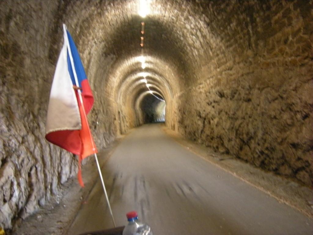 Tunel s fotobuňkou na voiex vertes
