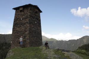 Jedna z omalských věží