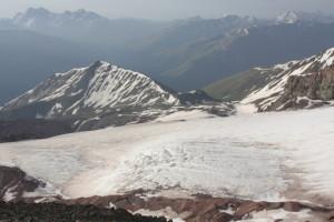 Ledovec pod Kazbegem