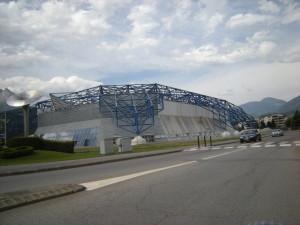 Olympijský stadion v Albertville