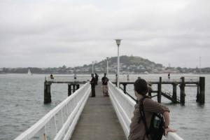 nakouknutí do Aucklandu