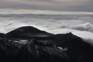 Pohled z Mt. Ngauruhoe