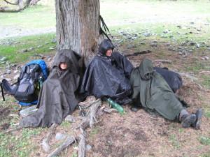 Bezdomáči za deště