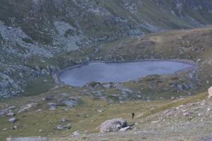 Jezero pod Črni Vrchem