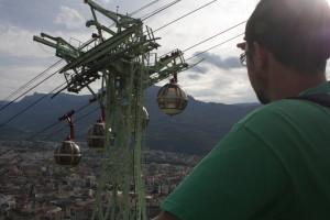 Lanovka nad Grenoblem