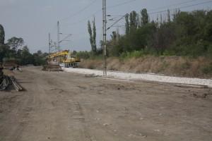 Oprava trati do Skopje