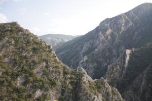 Kaňon řeky Traska