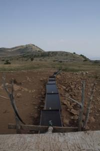 Jeden z mála zdrojů vody