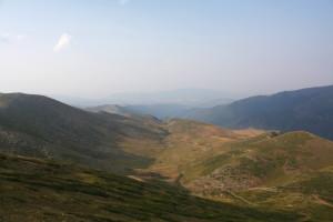 Pohled z5 ze sedla Karadžica
