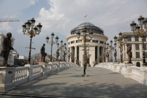 Moderní část Skopje
