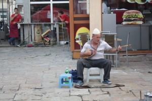 Nedaleko starého Bazaru ve Skopje