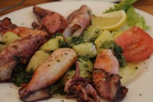 Mořské potvory - restaurace v Loparu