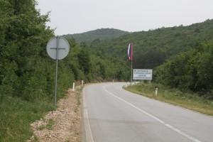 Přejezd z Hercegoviny do Republiky Srpske