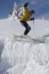 Zkouška stavu sněhu