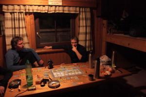 Typický večerní program - deskové hry