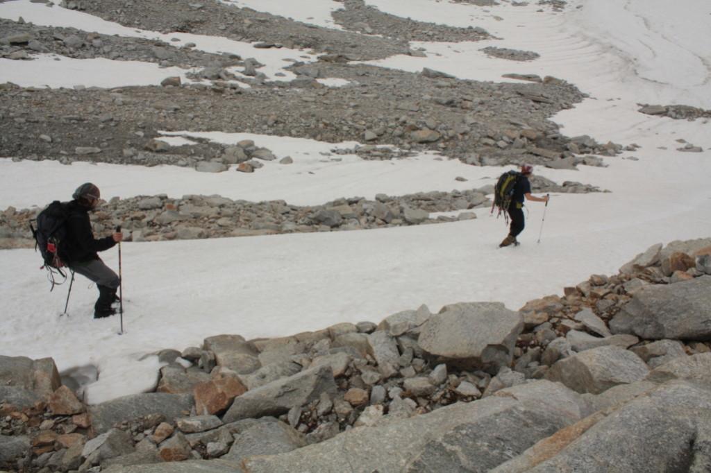 Sjíždění po sněhovém poli