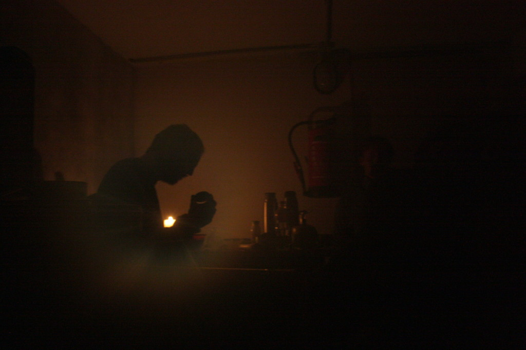 Večer při svíčkách