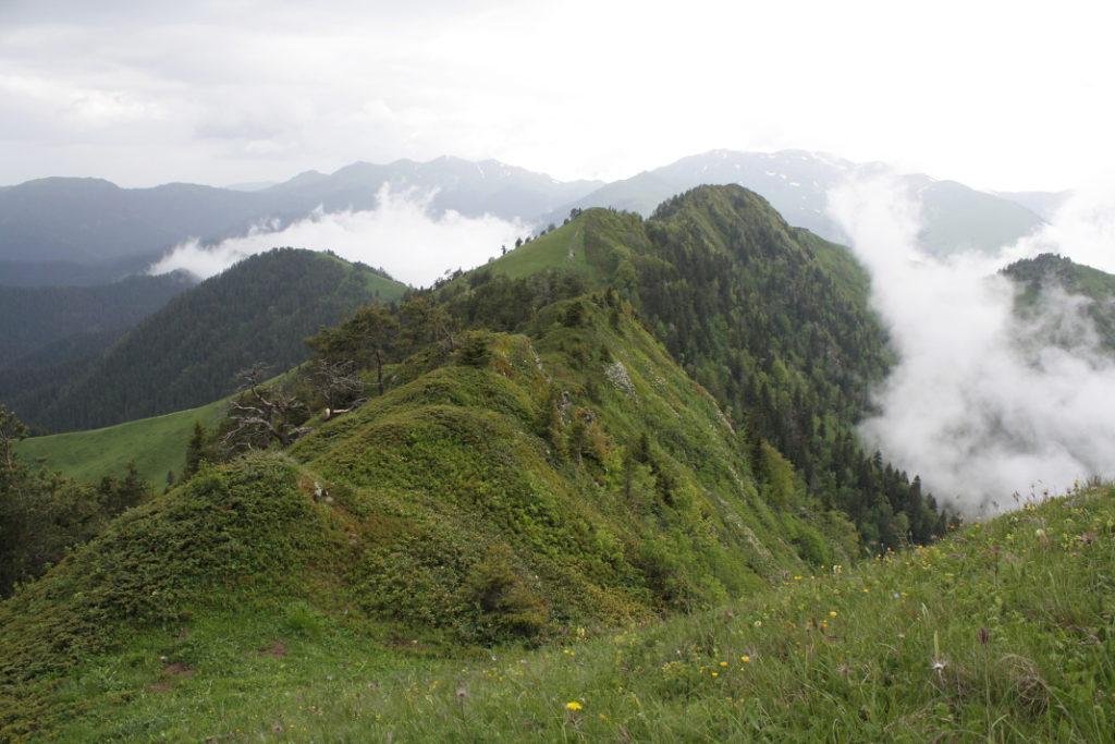 Malý Kavkaz - výhled z Lomismty