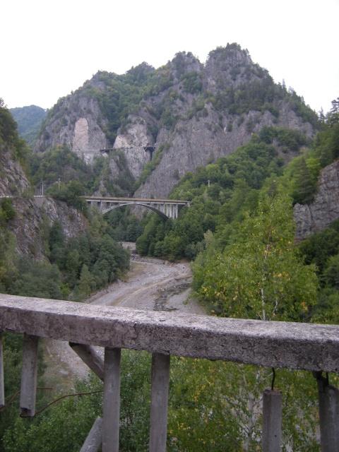 A je to tady - nástup na Transfagaraš highway!