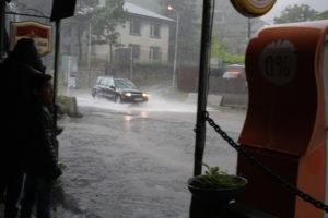 Pozorování šrumce při bouřce
