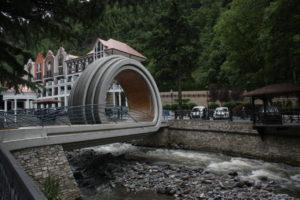 Kolonáda v Borjomi