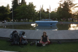 Gori - zevling v parku